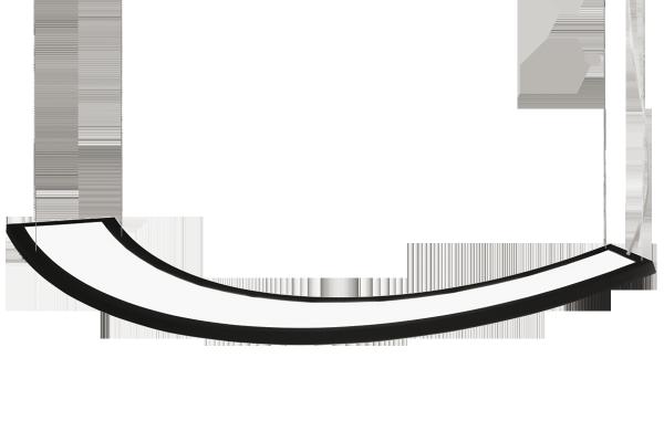 Подвесной светильник UNDA 100-511K-50GDE/840, B