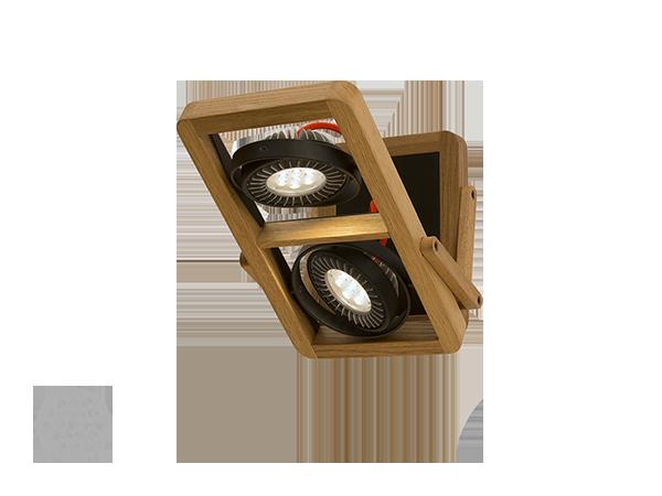 Деревянный настенный светильник ARBO 150-300N-20AEE, D