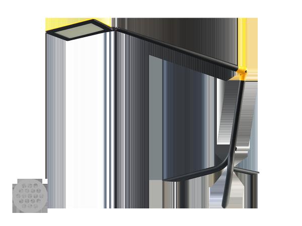 Настольный светильник FLOU 111-800N-10HAT/828, BW